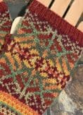 Autumnsong Fingerless Mittens - Mandy Moore - Olach Designs